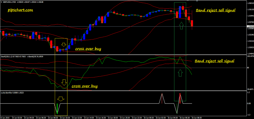 Cycle identifier indicator binary options